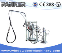 Two Component Sealant Spreading Machine/ Hot Melt Coating Manual Extruder Machine