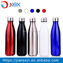 Customizable colorful outdoor thermos sport water bottle,double wall vacuum insulated stainless steel water bottle