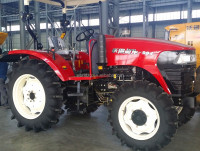 90HP 4WD garden tractor tractor wheeled with farm machinery