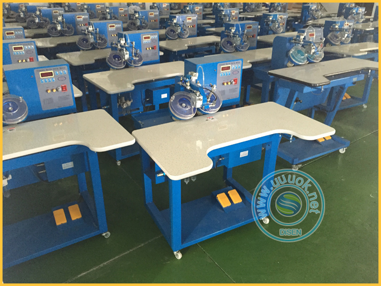 Multi head double disk embroidery stone crystals ultrasonic computer automatic hot fix machine price