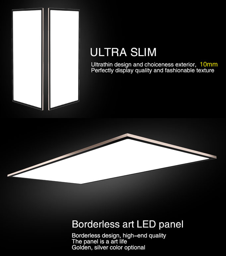 wholesale home lighting dimmable IP20 ra20 3 years warranty 120x60 32w square led panel light with ce rohs