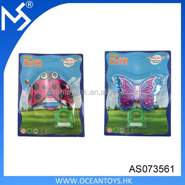 Wholsesale sport kite outdoor toy insect shaped mini kite