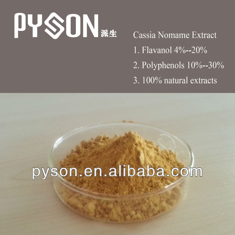 Best price with high quality Cassia nomame (sieb.) L.Kitagawa/Cassia Nomame Extract Flavonols