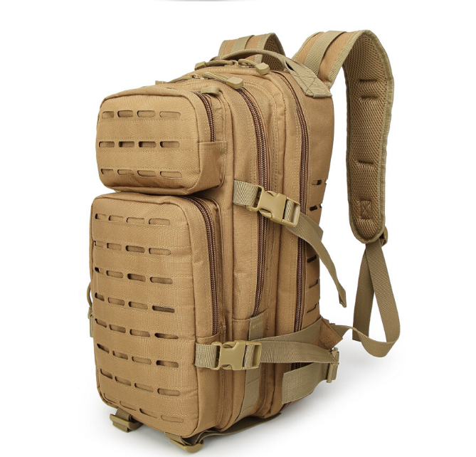 600D Laser Cut Tactical Molle Backpack With Water Resistant Function