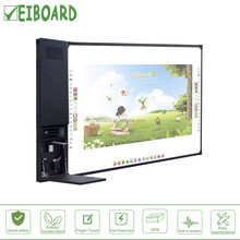 "China supplier all-in-one 82"" whiteboard optical lcd interactive touch screen smart board tv with pc"