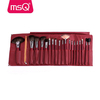 19pcs Classical Red Color Cosmetic Brushes Makeup Brush Factory