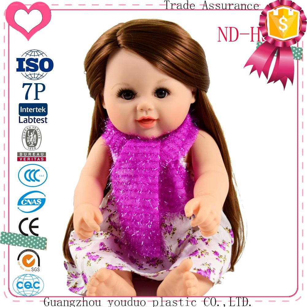 Wholesale Doll Cute Doll With Beauty Cloth And Scraf Baby Doll