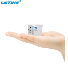 2017 New Best Quality Touch Control Wifi Mini Video Pocket Projector,Micro Home Projector P6