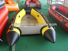 PVC high-speed aluminum inflatable boat