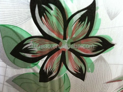 plastic pvc wash painting printed sheets for table cover