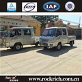 Double-cab 5 kw motor power 1T electric small mini truck