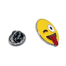 Emoji theme painted carft metal lapel pins