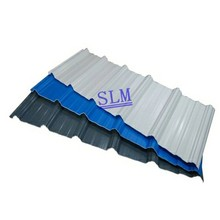 Asia black corrugated metal roofing sheet