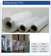 LLDPE clear Stretch Film wrapping film hand using machine using