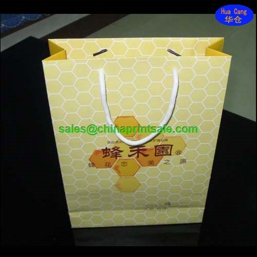 Excellent making handle craft paper bags in China Guangzhou