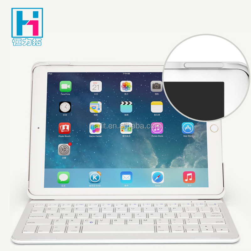 Hot Sell Wireless Bluetooth Keyboard For iPad mini Folio Leather Case With Wireless Bluetooth Keyboard For iPad Mini 4