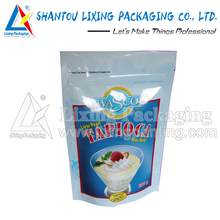LIXING PACKAGING disposable food packaging paper bag for flour packaging