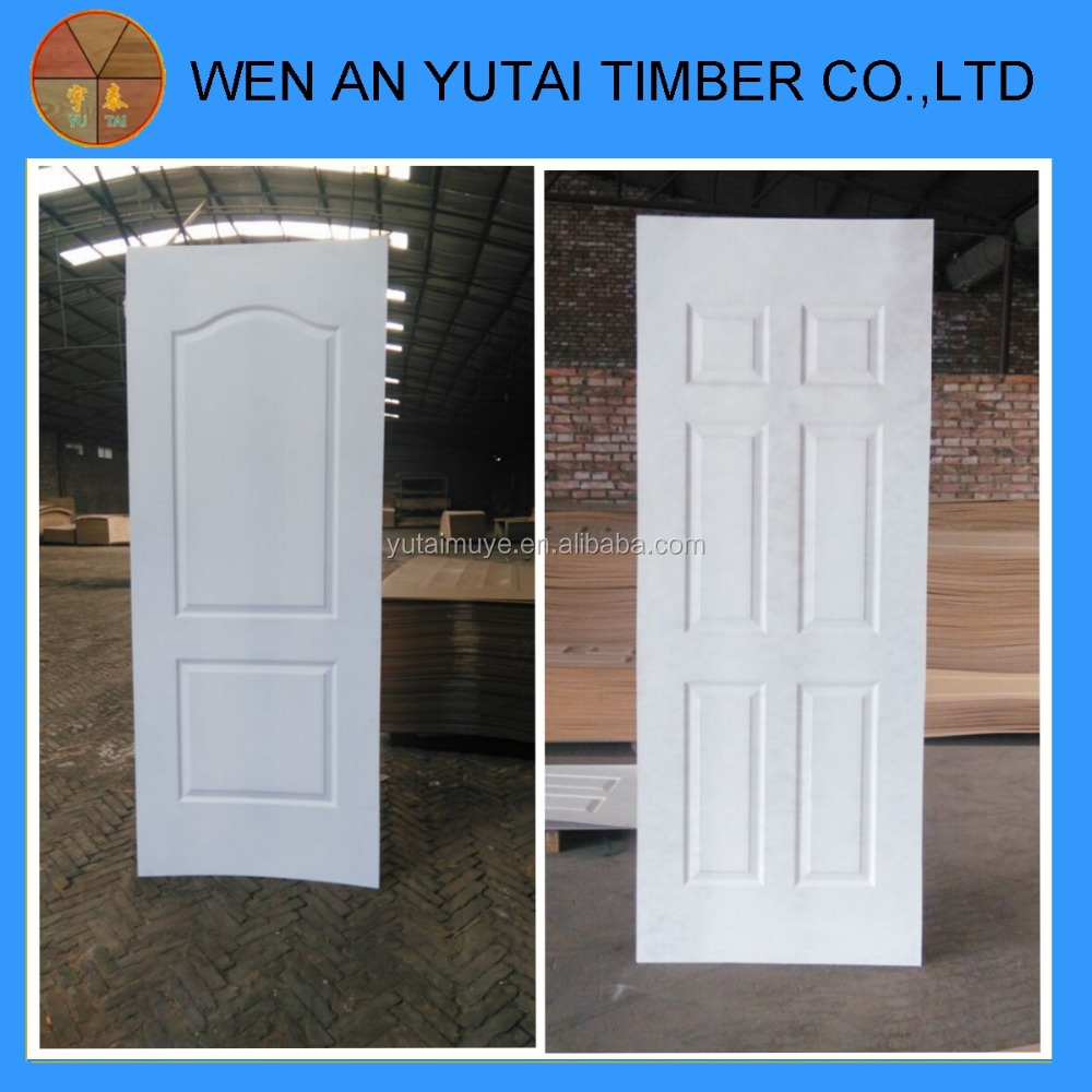 White primer door skin moulded door skin hdf door skin