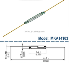 MKA14103 Wholesale Magnetic Reed switch/ Reed sensor with Fast Shipping