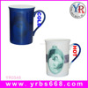 10oz Custom souvenir gift water transfer printing sublimation ceramic coffee mug