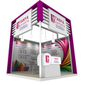 Detian Display offer rental trade show exhibition booth, exhibition booth rental provide design and build