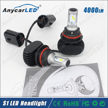 Automobiles motorcycles auto llighting 8000LM 30W S1 9007 car headlight