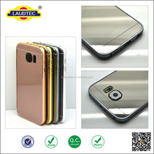 New Luxury Aluminum Ultra-thin Mirror Metal Case for iPhone 6, Metal Bumper Case For samsung S6 /s6 edge