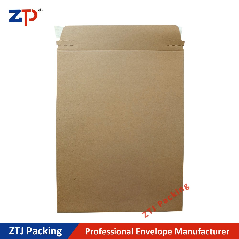 Thick cardboard rigid envelopes Colorful Aluminized Foil Bag as Gift Mailer