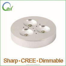 Surface/Recessed Mount Dimmable 3W 12V UL adjustable led downlight