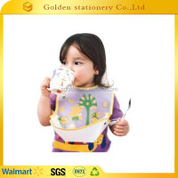 Eco-Friendly washable folded baby bib