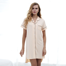 Hot selling high quality comfortable sexy women nightshirt