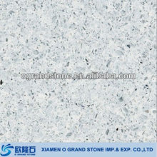 wholesale high quality sparkle white artificial quartz price