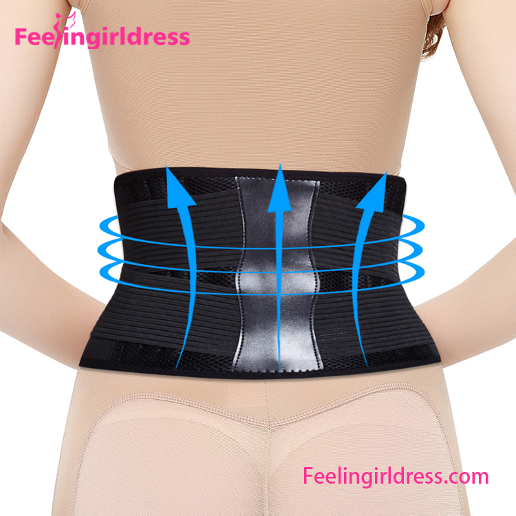Fast delivery belly fat burning fitness slim belly belt