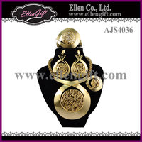 Big African Fashion Jewelry Set AJS4036