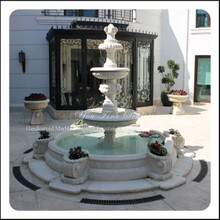 3 Tiers Outdoor Water Garden Fountains Sale with Pots
