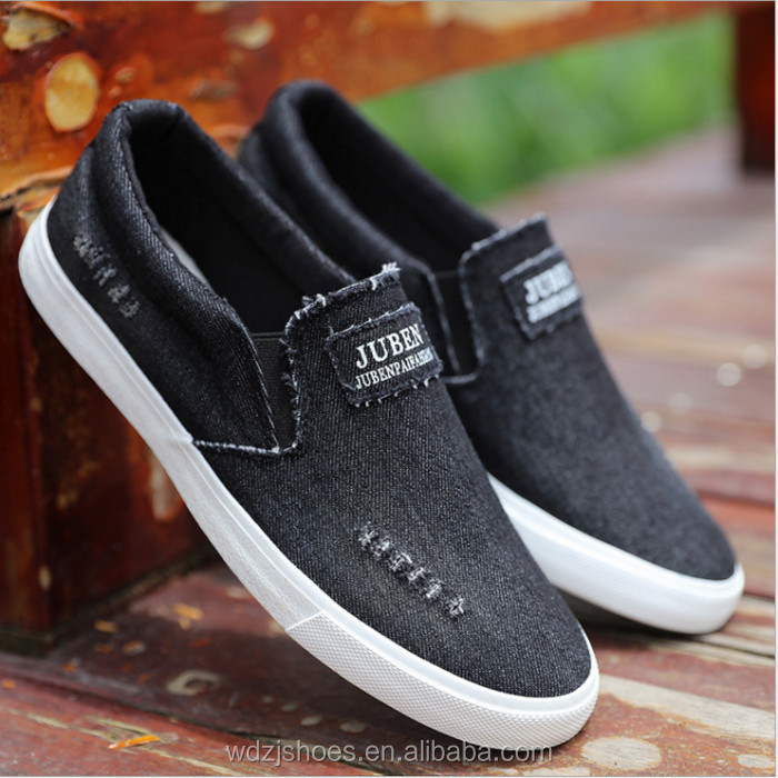 New Fashion men new model canvas casual shoes