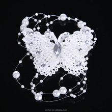 high quality summer head clip butterfly lace hair bands HA-240