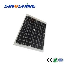 Made in China18v 20w Unisolar flexible solar panel with cheap price 1wp