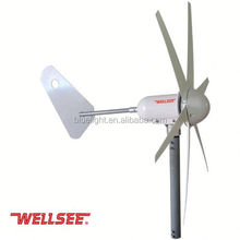 wellsee dc motor wind turbine generator 300w 400w optional horizontal wind generator for home use WS-WT300