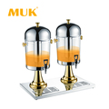 MUK hotel restaurant buffet Promotional bag in box juice dispenser