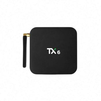 2019 Newest tv box Hot Sale Ott Tv Box Android 9.0 Tx6 H6 4gb 32gb Wifi  Tv Box