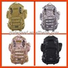 Tactical Modular MOLLE 3 Days Military Assault Backpack Army Laptop Packs with Hydration System Compatibility Bag