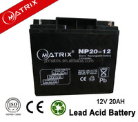 Best factory price 12v 20ah lead-acid battery for Electronic Mobility Wheelchair