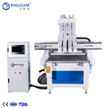 FLDM woodworking cnc router mdf / acrylic / green board / soft metal / PVC wood machine