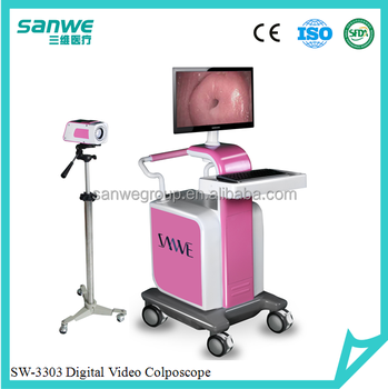 SW-3303 Series Digital Colposcope / Trolley Type Video Colposocpe /Colposcope