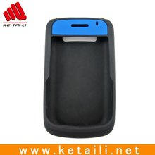 For blackberry cases, doble color of silicone