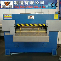 Hydraulic Clear Box Plastic Film Cutting Machine with Creasing