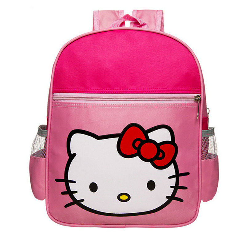 New Style pink cat printing design smiggle school bag more stock