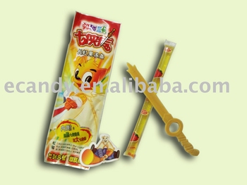 Weapon shaped jelly stick