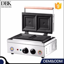 DBK Electric single panini contact grill sandwich making vending machine/Grill Sandwich machine